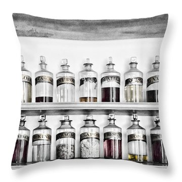 Potions Galore Throw Pillow