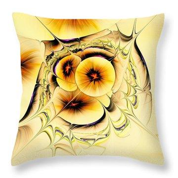 Potpourri Throw Pillow by Anastasiya Malakhova
