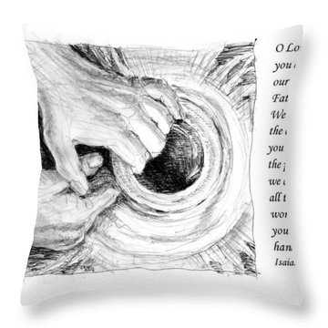 Potter And Clay Throw Pillow