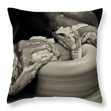 Potter Throw Pillow by Caitlyn  Grasso