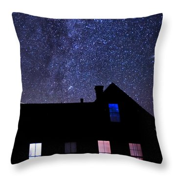 Pour In The Light Throw Pillow by Cat Connor