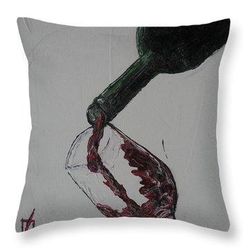 Pour Throw Pillow