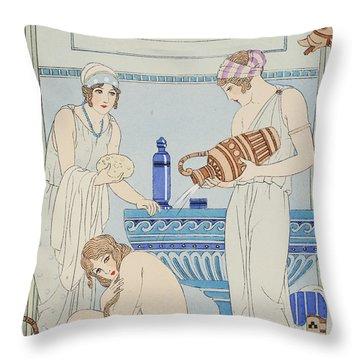 Ancient Greece Throw Pillows