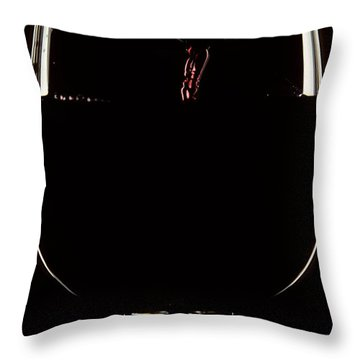 Pouring Wine Throw Pillow by Cyril Furlan