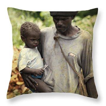 Poverty Throw Pillow