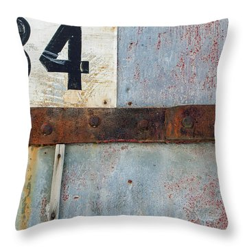 Powder Magazine Throw Pillow