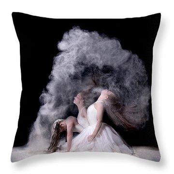Dust Throw Pillows