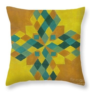 Power Star Throw Pillow