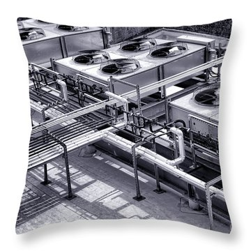 Power Cooling Throw Pillow