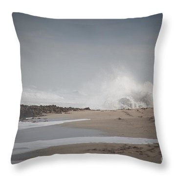 Power Throw Pillow by George Mount