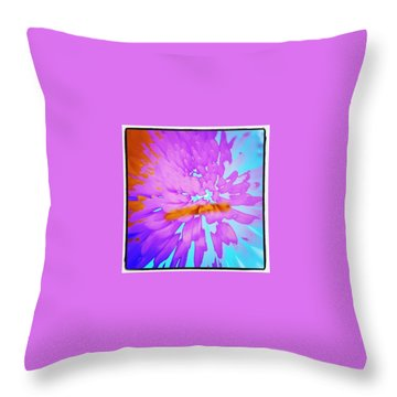 Power Throw Pillow by Jacqueline Schreiber