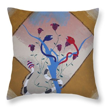 Power Not We The People Throw Pillow by Dean Stephens