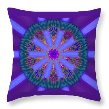 Power Of Ten Throw Pillow by Mike Breau