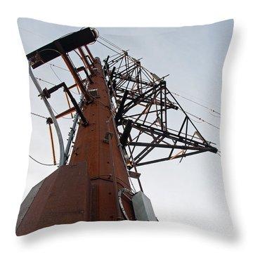 Power Up Throw Pillow by Minnie Lippiatt