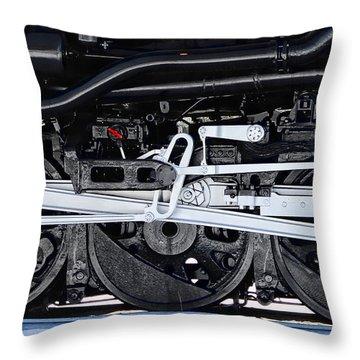 Power Wheels Throw Pillow