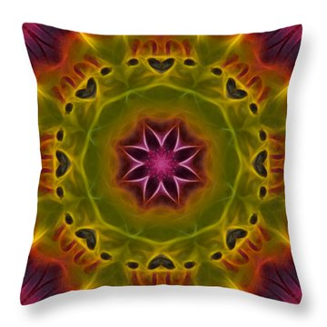 Throw Pillow featuring the photograph Powerful Creator - Square by Beth Sawickie