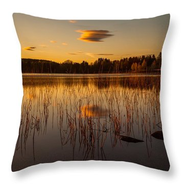 Powerful Peace Throw Pillow by Rose-Maries Pictures