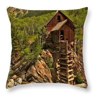 Powering Down Throw Pillow by Adam Jewell