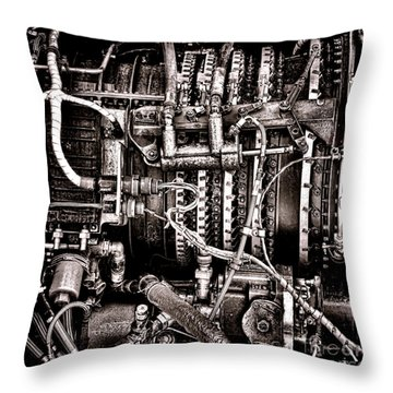 Powerplant Throw Pillow