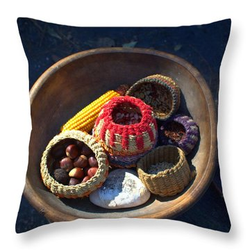 Powhatan Staples Throw Pillow