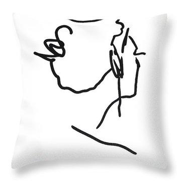 Practice Matisse  Throw Pillow