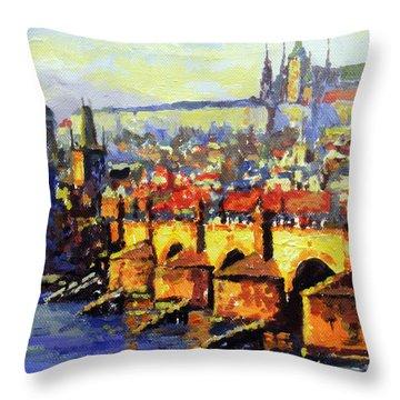 Charles River Throw Pillows