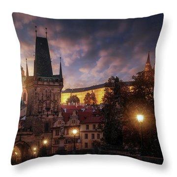 Famous Landmark Throw Pillows