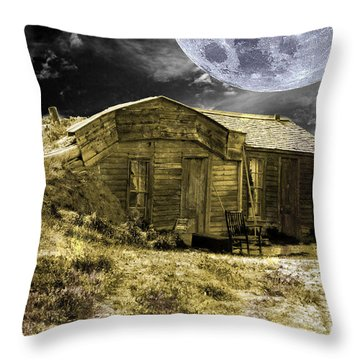 Prairie Life Digital Throw Pillow