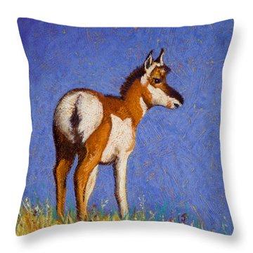 Prairie Native Throw Pillow