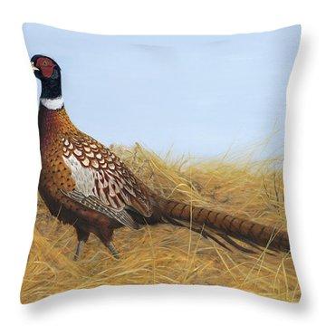Prairie Splendor Throw Pillow