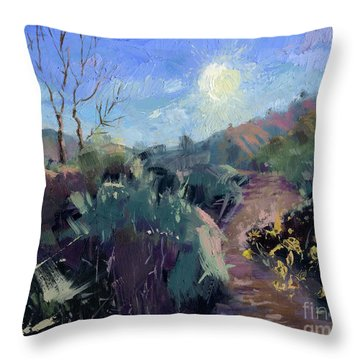 Sold Praise For The Morning  Throw Pillow