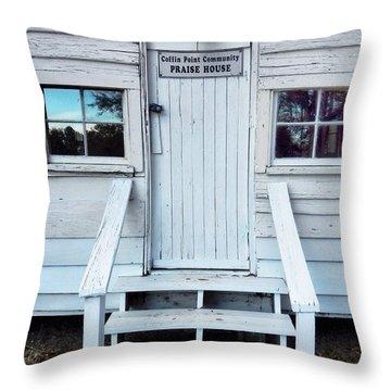 Praise House Throw Pillow