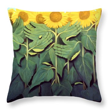 Praise The Son Throw Pillow by Anthony Falbo