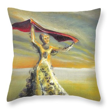'praise You In This Storm' Throw Pillow