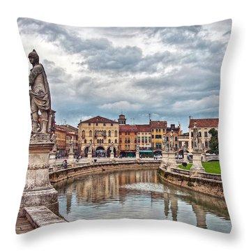 Prato Della Valle Throw Pillow