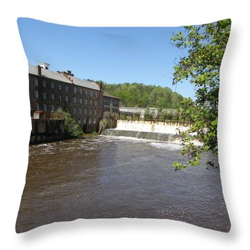 Pratt Cotton Factory Throw Pillow