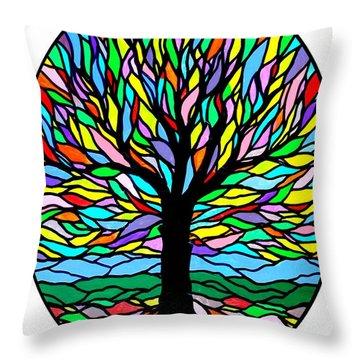 Prayer Tree Throw Pillow