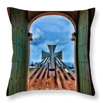 Prayers For Cartegena Throw Pillow