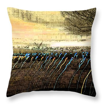 Pre Dawn Life Throw Pillow