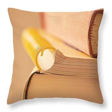 Pre Internet Throw Pillow