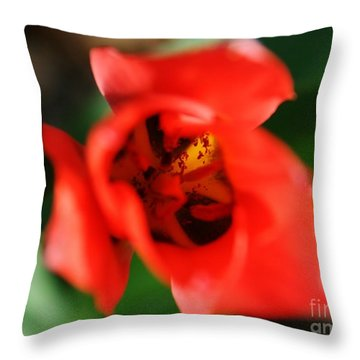 Pre-pollination  Throw Pillow by Neal Eslinger