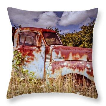 Preberry Takeover Throw Pillow