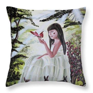 Precious Blessing Throw Pillow