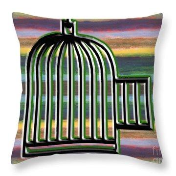 Precious Freedom Throw Pillow by Patrick J Murphy