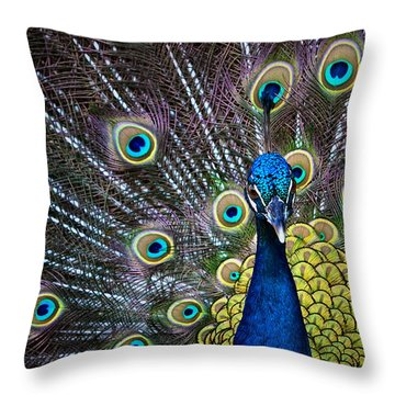 Throw Pillow featuring the photograph Precious by Joan Davis