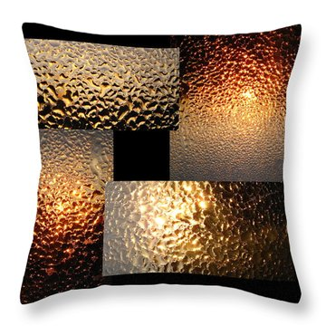 Throw Pillow featuring the photograph Precious Light Two by Joyce Dickens