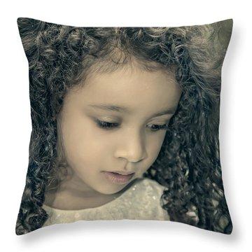 Precious Time Throw Pillow