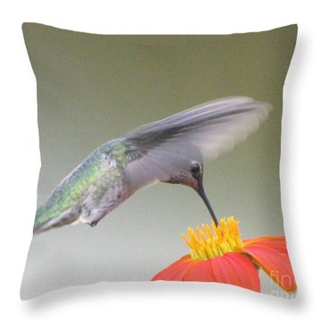 Precision Throw Pillow by Tina Marie
