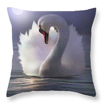 Preen Throw Pillow by Robert Foster