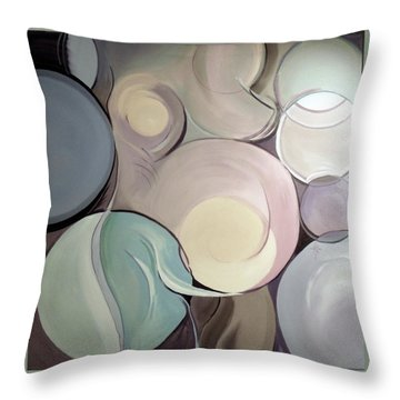 Pregnant Possibilities Throw Pillow